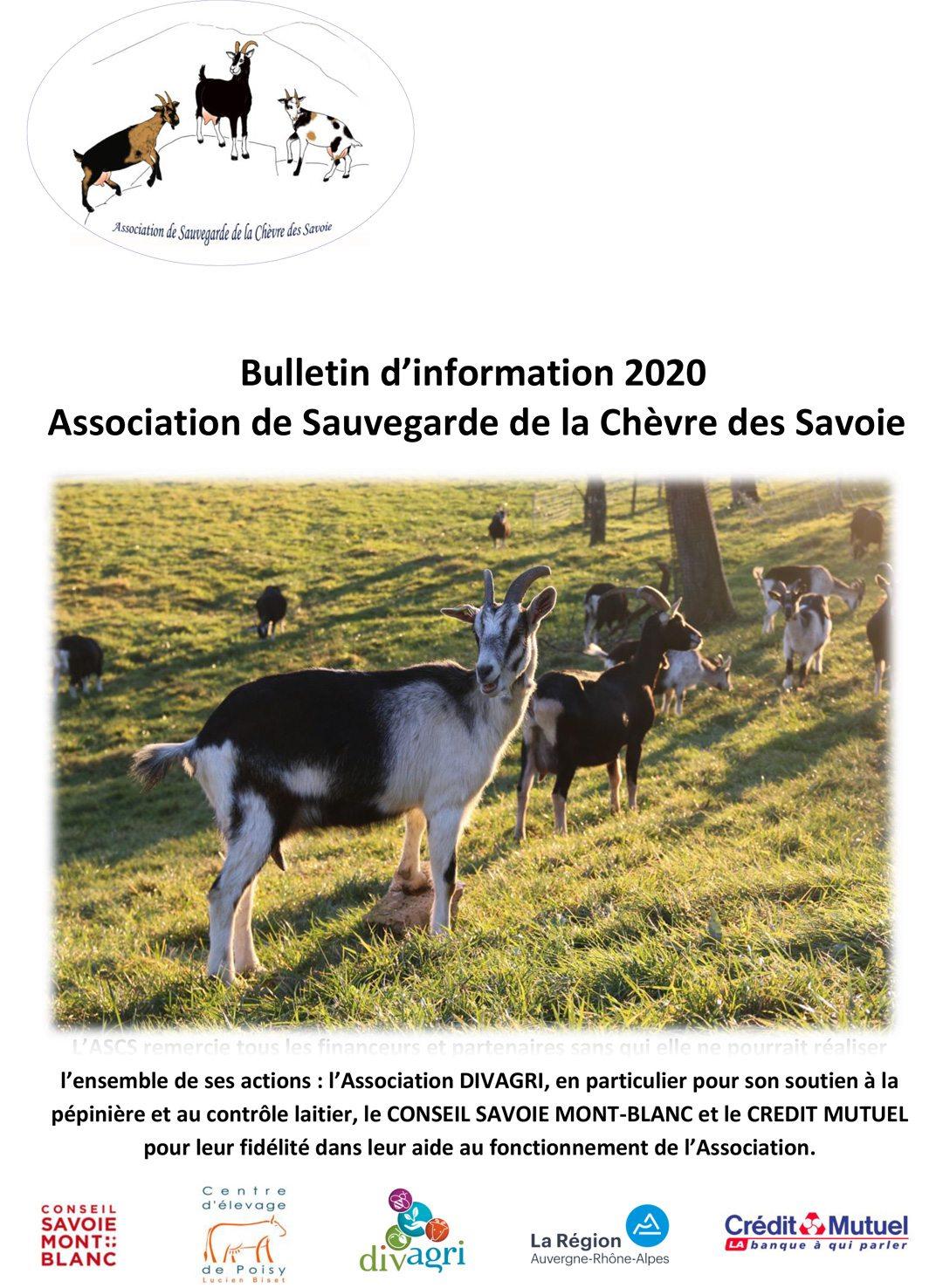 Le bulletin de l'ASCS 2019-2020